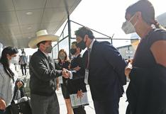 Pedro Castillo llegó a Estados Unidos para participar en la sesión del Consejo Permanente de la OEA