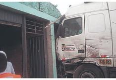 Choque de vehículos casi termina en tragedia en La Libertad