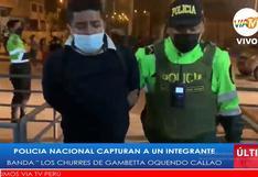 Callao: capturan a delincuente que asaltó junto a su banda a 40 pasajeros de un bus en Av. Gambetta