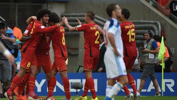 Brasil 2014: Bélgica vence a Rusia 1-0 y clasifica a octavos de final