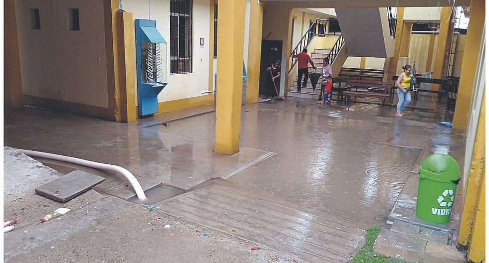 Lluvias afectan varios lugares de la región Tumbes