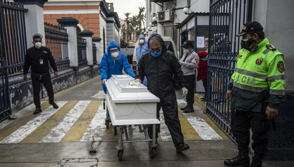 La cantidad de muertos en Estados Unidos asciende a 204.499 con 7′079.689 contagios. (Foto: Ernesto Benavides / AFP)