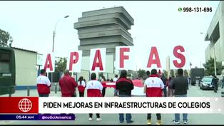 Padres de familia piden mejoras en infraestructura de colegios