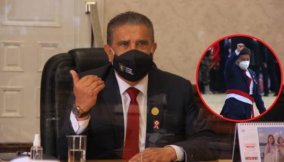 El gobernador regional de La Libertad cuestionó designación de Guido Bellido y advierte lío con el Legislativo. Aseguró que el Gobierno debe presentar su gabinete con personas intachables.