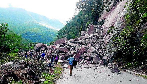 Huaicos amenazan a 65 distritos ubicados en la Selva Central