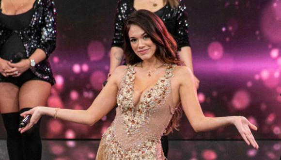 Jazmín Pinedo vuelve a la TV peruana y será parte del reality Reinas del Show, donde pondrá a prueba su talento para el baile.
