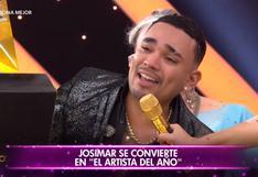 Josimar ganó 'El Artista del Año' y se lleva 30 mil soles: Se lo quiero dedicar a mi madre y para toda la iglesia