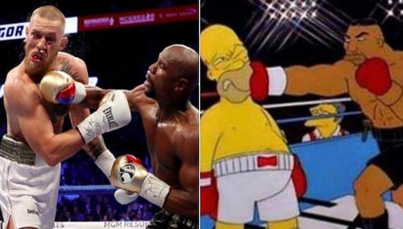Mayweather apaleó a McGregor y estos son los memes que dejó la 'pelea del siglo'