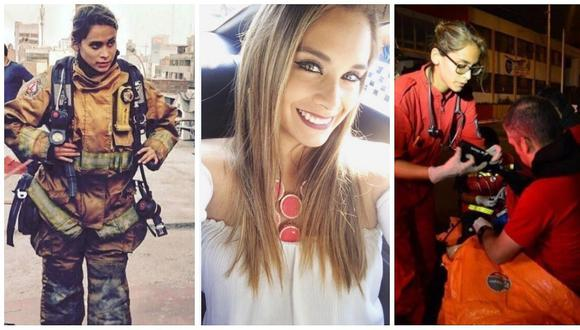 Facebook: candidata a Miss Perú elogiada por ser alumna de Bomberos Voluntarios (FOTOS)