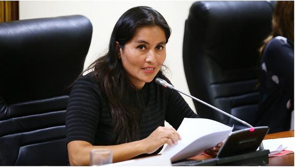 """Comisión de Ética investigará a fujimorista Marita Herrera por """"viaje fantasma"""""""
