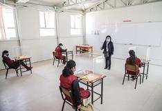 En Junín unas 258 instituciones educativas ya realizan clases de manera semipresencial