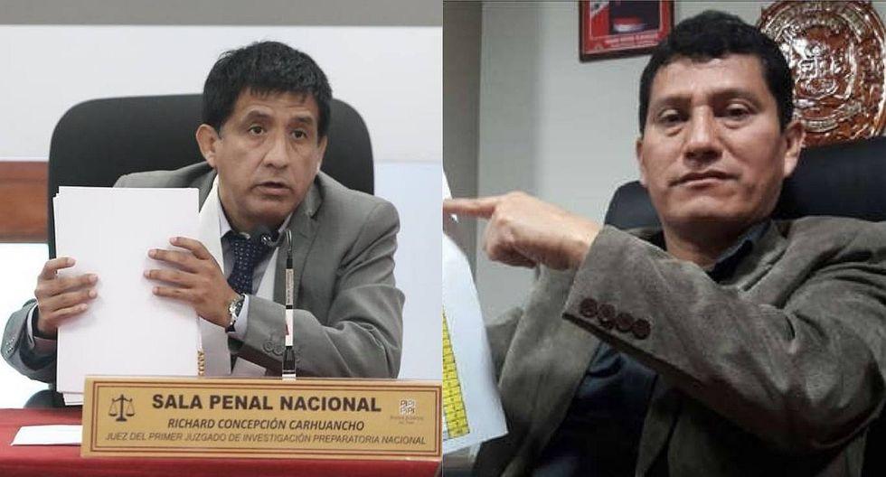 Juez Concepción Carhuancho brinda apoyo a coronel Colchado que investiga a 'Los Cuellos Blancos'