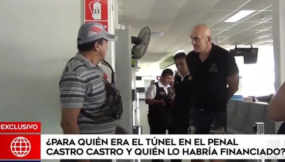 El serbio Zoran Jaksic es sospechoso de haber financiado la construcción del túnel para escapar del penal Miguel Castro Castro. (Foto: América Noticias)