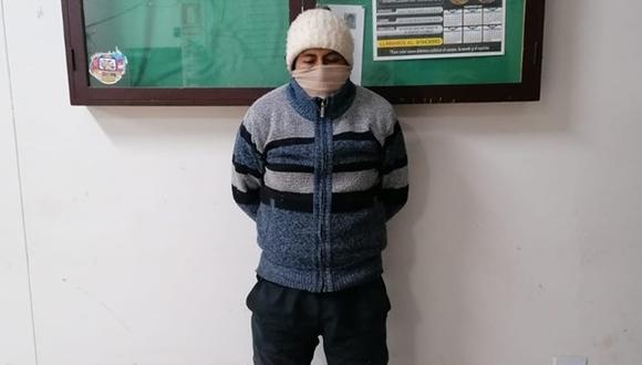 El hombre fue conducido hasta la dependencia policial de Ayaviri, en donde fue interrogado por la Policía.