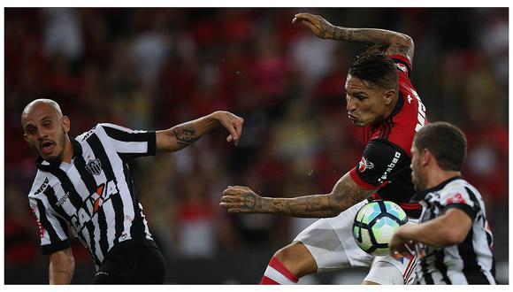 Incertidumbre en Flamengo por futuro de Paolo Guerrero