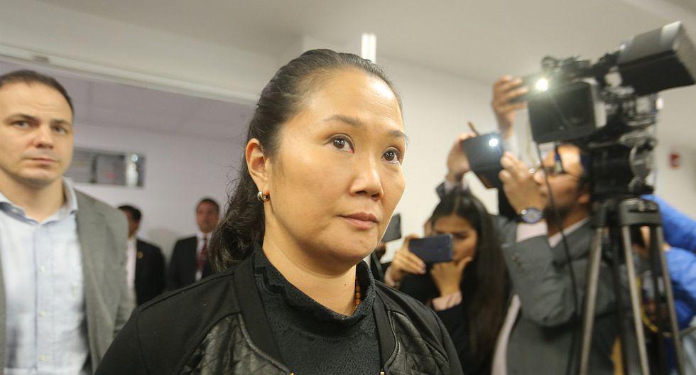 Keiko Fujimori: Me angustia mucho haberme enterado de la huelga de hambre de Mark