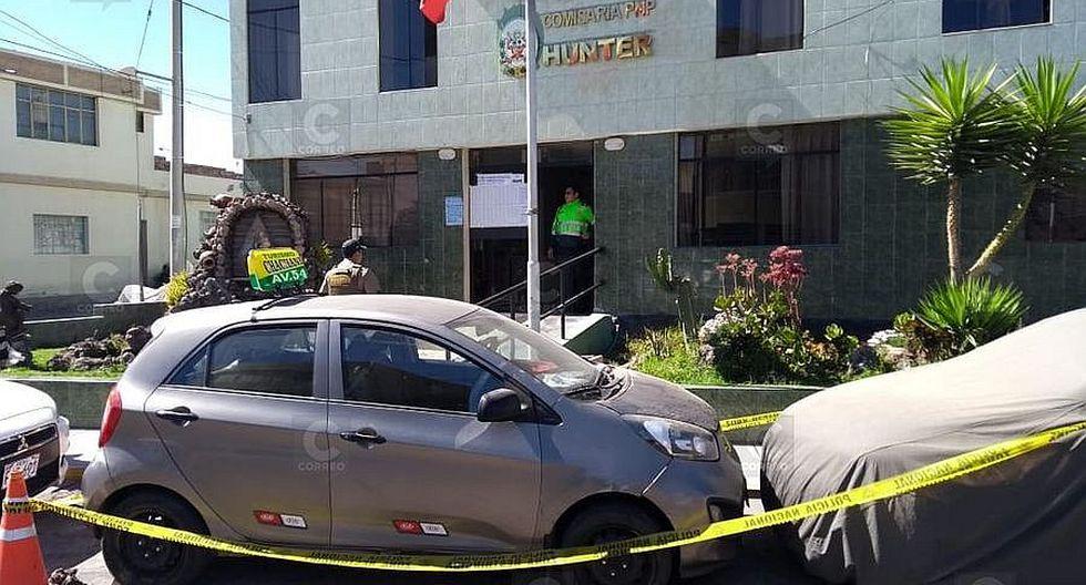 Tres varones se movilizaban en auto con placa clonada