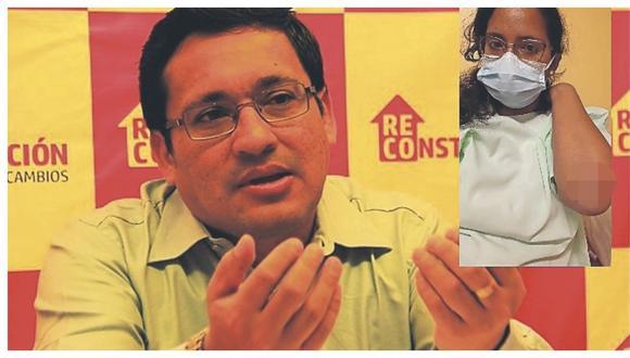 Subdirector de la ARCC,  Ángel Miguel Pérez Santa Cruz, habría arrebatado teléfono celular y arrastrado con camioneta a la agraviada, quien tiene diversos golpes.
