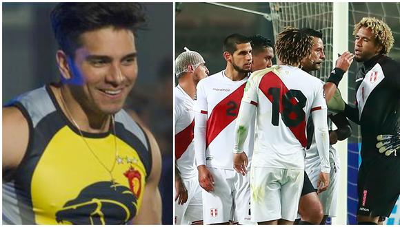 Rafael Cardozo se burla en Instagram tras la derrota de Perú ante Brasil. (Fotos: América TV / AFP)