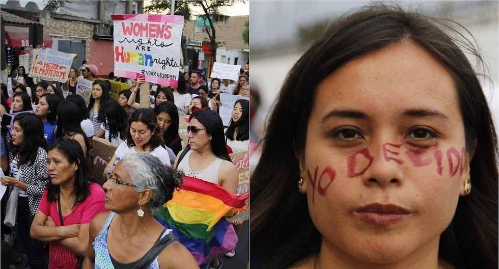 Marchan por las mujeres (FOTOS)