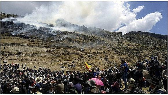 Presidente de gremio minero afirma que bloqueo a mina 'Las Bambas' paralizará la producción de cobre