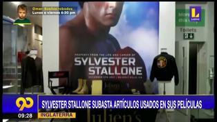 Sylvester Stallone envía a subasta los artículos que usó en sus películas