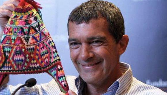 Antonio Banderas envía saludo por Fiestas Patrias