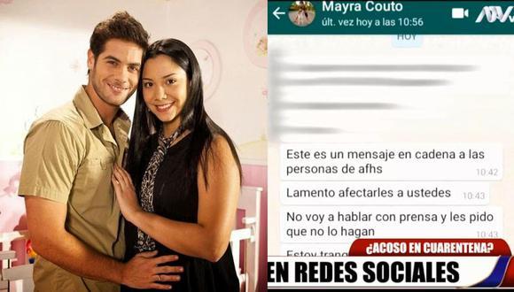 Mayra Couto envió un mensaje a los actores de 'Al fondo hay sitio'. (Instagram/Día D)