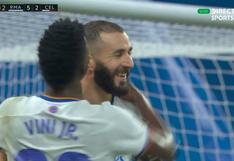 Karim Benzema se lució con 'hat-trick' en el Real Madrid-Celta (VIDEO)