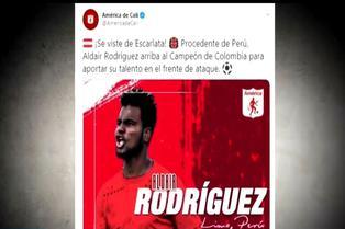 Aldair Rodríguez promete goles y festejos en América de Cali