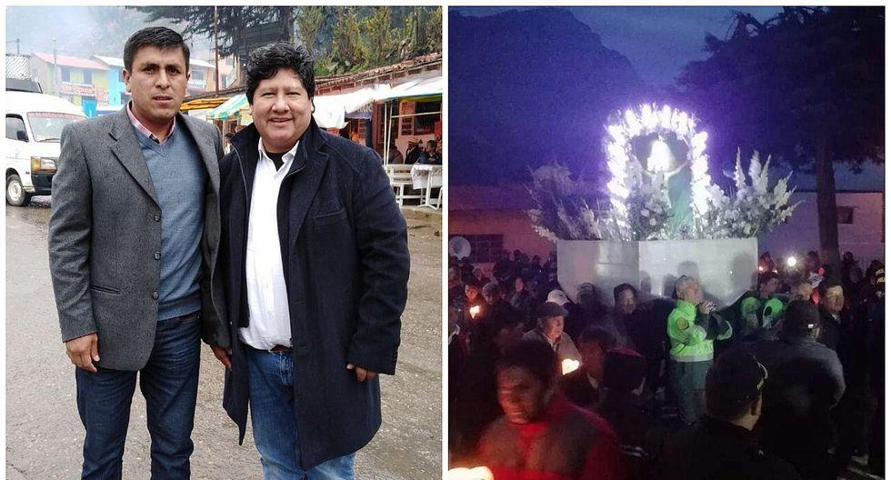 Edwin Oviedo reza al Señor de Muruhuay para librar de sanción a Paolo Guerrero