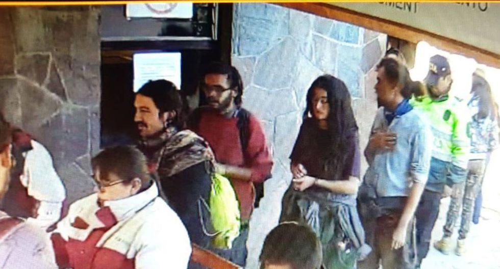 Principal autor de desmanes en Machu Picchu se encuentra en Cusco para audiencia judicial
