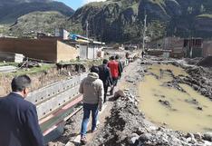 Huancavelica: Paralización de obra de drenaje pluvial perjudica a vecinos