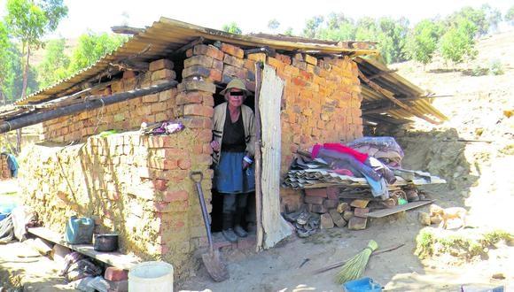 Pobreza se anida en los hogares