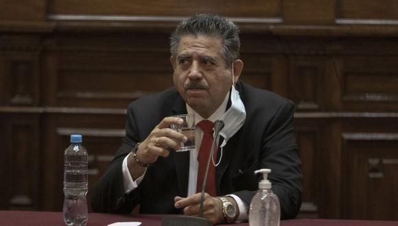 """Manuel Merino dijo que la situación de la vacunación en Chile es """"envidiable"""". (Foto: Renzo Salazar / GEC)"""