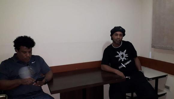 Ronaldinho y su hermano Roberto serán sometido a justicia paraguaya. (Foto: ABC)