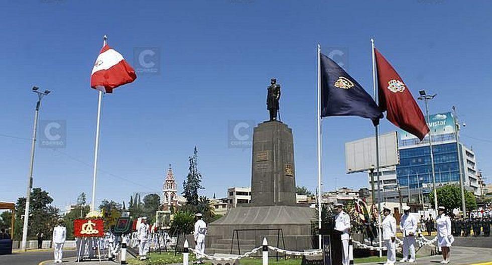 Arequipa: Homenaje a Miguel Grau