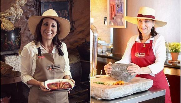 Mónica Huerta recibió el Premio Summum como Mejor Cocina de Autor
