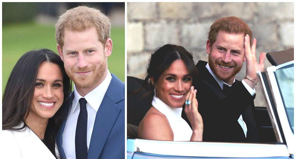 Príncipe Harry y Meghan Markle: revelan las primeras fotos oficiales de la boda real (FOTOS)