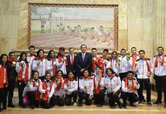 Martín Vizcarra felicitó a medallistas peruanos antes de la clausura de los Juegos Panamericanos Lima 2019  (VIDEO)