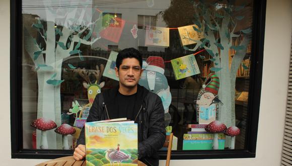"""Reseñamos """"Érase dos veces"""", el primer libro de cuentos de José Miguel Vásquez, que cuenta con las ilustraciones de Miguel Ortiz."""