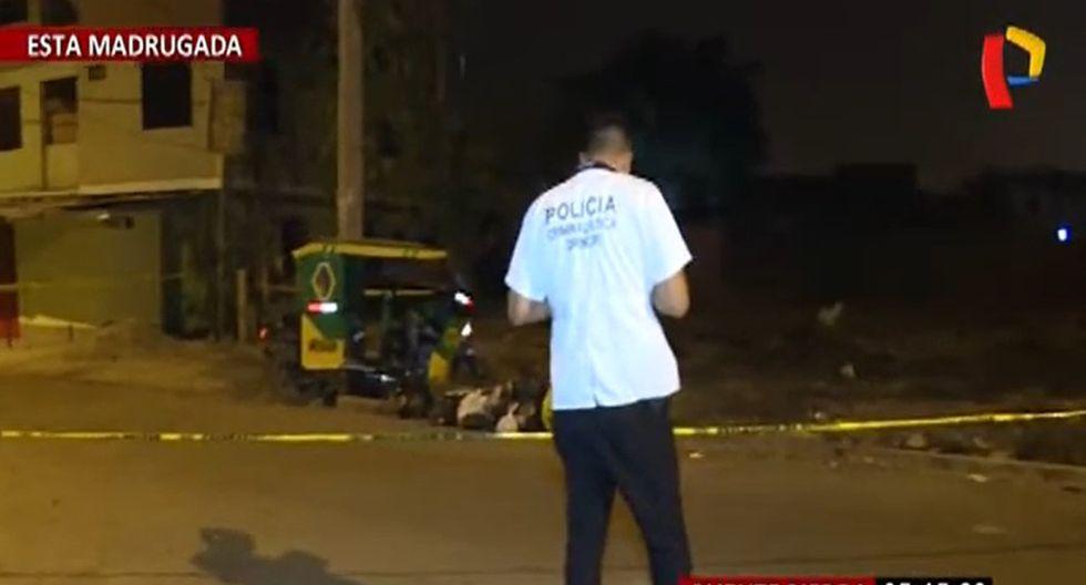 Puente Piedra: delincuentes se hacen pasar por pasajeros y asesinan a mototaxista