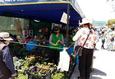 Feria de flores Alto Selva Alegre clausurará mañana