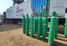 Planta de oxigeno de la AMPE llegó a la ciudad de Ica