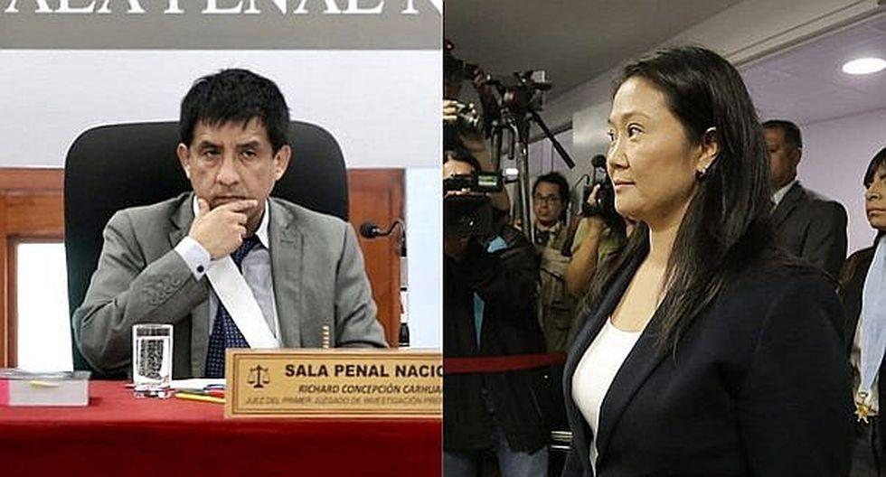 Keiko Fujimori: Declaran improcedente recusación contra la Sala que separó a Richard Concepción