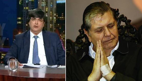 """Jaime Bayly sobre muerte de Alan García: """"Ha preferido eso a la humillación de ir a la cárcel"""""""