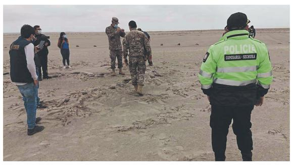 La pista clandestina sería utilizada por organización criminal para el tráfico ilícito de droga.