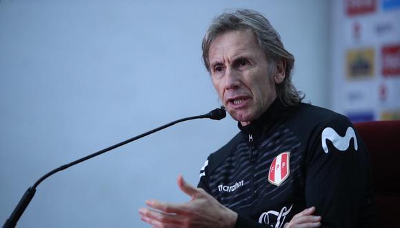 El técnico argentino destacó la respuesta de los debutantes en Copa América. (Foto: FPF)
