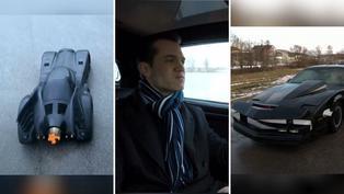 Batimóvil y 'El auto fantástico' son creados por joven austriaco