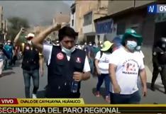 Huánuco: Manifestantes que acatan paro piden presencia de Guido Bellido para instalar mesa de diálogo
